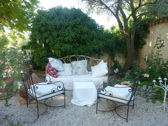 Le Mas du Grand Jonquier : il giardino