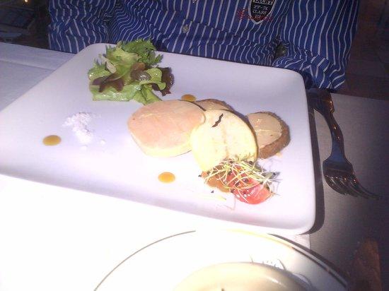 Hotel Le Provencal : foie gras