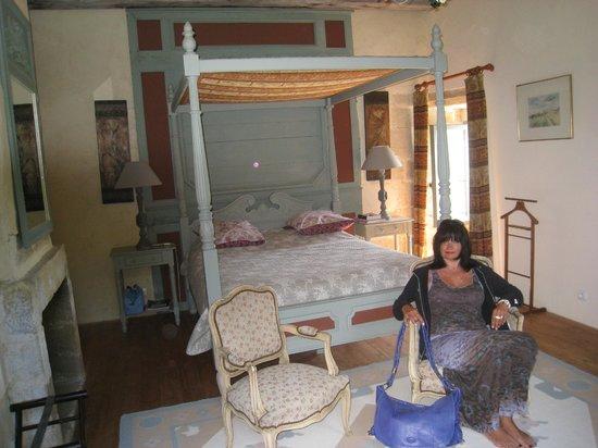 Manoir de Kerdanet : suite grand lit