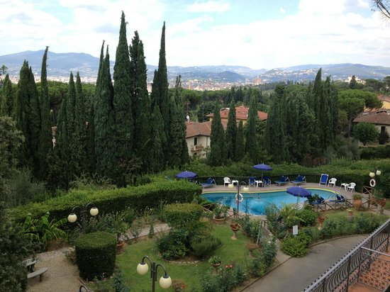 Villa Belvedere - Florence: View from our room