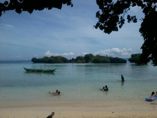 Paguriran Island: View of lagoon