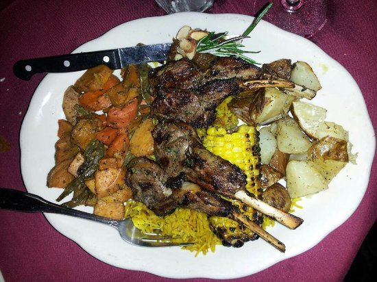 Imperial Fez: The Lamb Dinner was Great