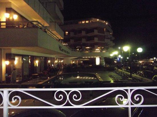 Hotel Waldorf Palace: vista dall'hotel Alexander