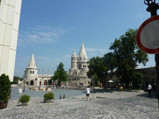 Hotel Orion Várkert: Bastion des pêcheurs sur la colline de Buda