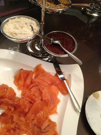 The Killarney Park Hotel : Breakfast Salmon