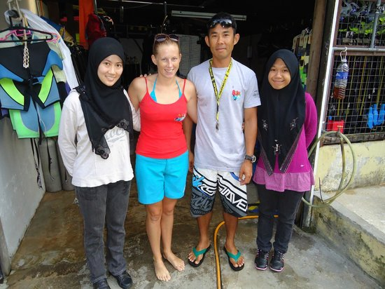 B&J Diving Centre: with our instructor