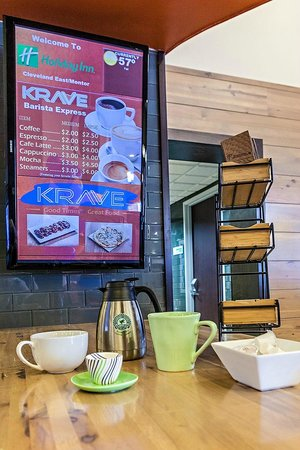 Holiday Inn Cleveland East - Mentor : KRAVE Barista Express