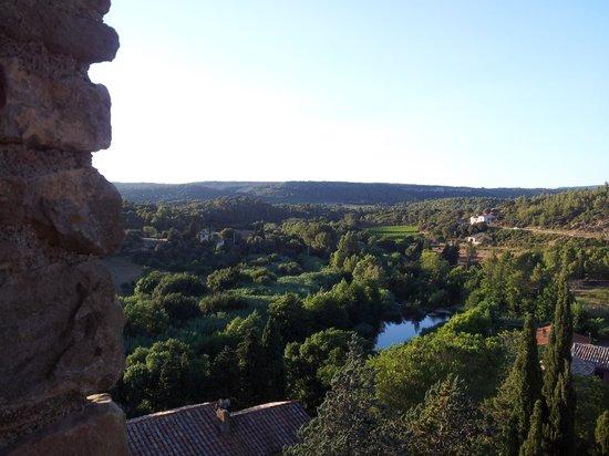 Le Roc sur l'Orbieu : Fantastic view from the room.