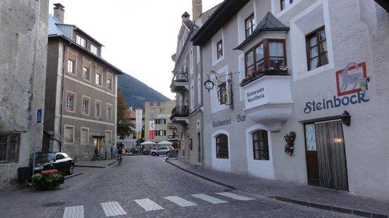 Restaurant Steinbock: L'ingresso della trattoria