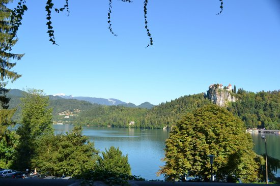 Garni Hotel Jadran - Sava Hotels & Resorts: View from balcony