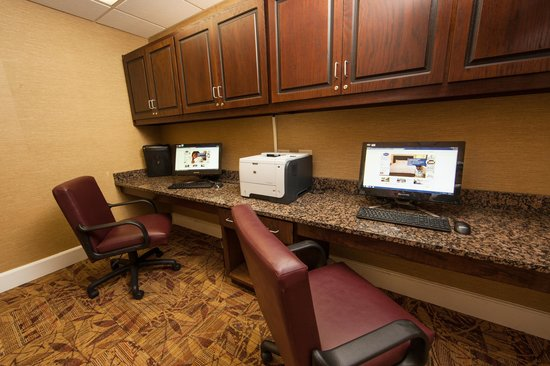 Hampton Inn Lagrange near Callaway Gardens: Business Center