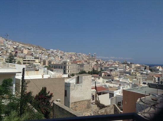 Hotel Ethrion: View from the room