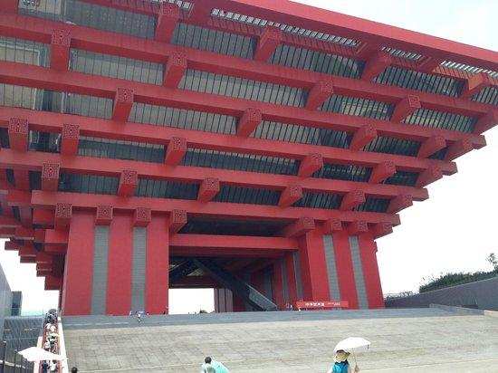 China Art Museum (Shanghai Meishu Guan): Building exterior