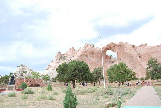 Navajo Reservation: Window Rock Navajo Tribal Park