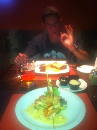 Hotel Valle Nevado: restaurante don diovani