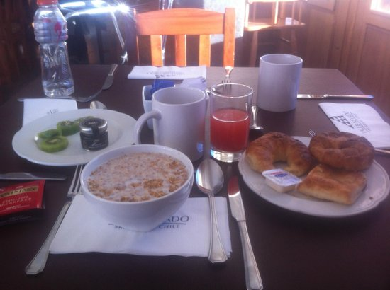 Hotel Valle Nevado: restaurante