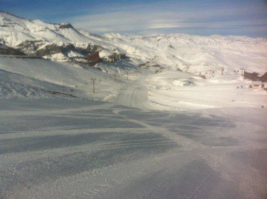 Hotel Valle Nevado: Estado das pistas início dia