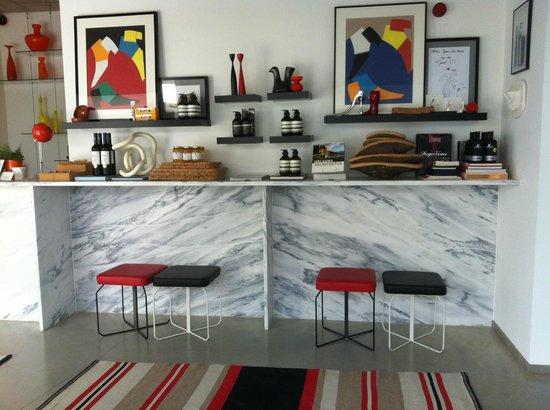 Villa Extramuros: Receptie
