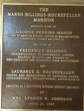 Marsh - Billings - Rockefeller National Historical Park : Marsh-Billings-Rockefeller Mansion