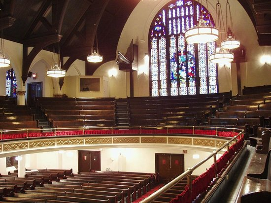 Mother African Methodist Episcopal Zion Church: Sanctuary of Mother A.M.E. Zion Church, Harlem, NY