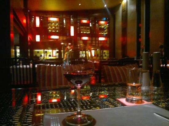 Mantra Restaurant & Bar: some wine ...