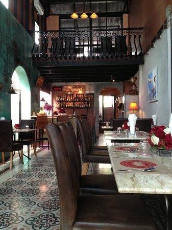 Rendez-Vous Wine Dine Coffee: interior design#day time#coffee