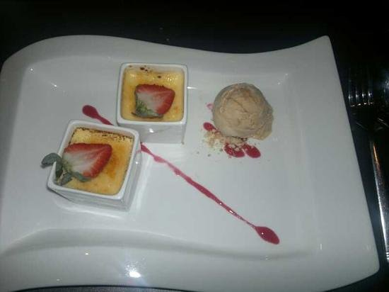 Mantra Restaurant & Bar: creme brule