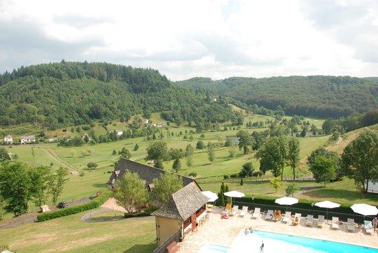 Hotel du Chateau de Salles : Room view
