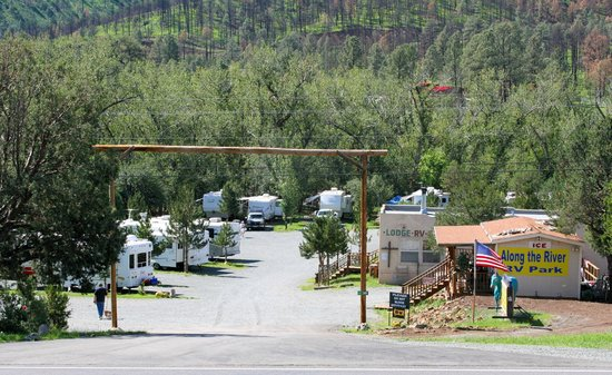 View From Road Picture Of Along The River Rv Park