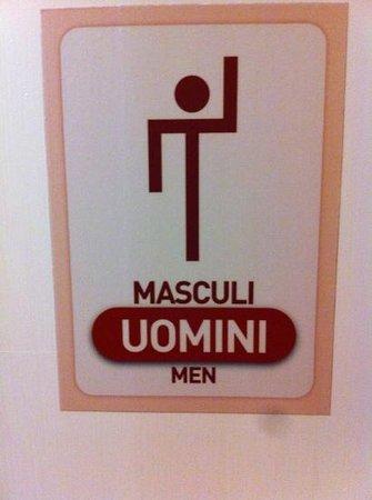 Fulana : bagno uomini