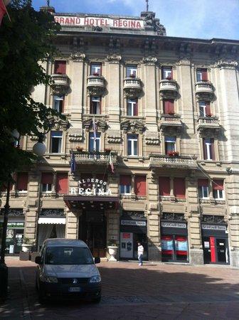 Grand Hotel Regina: facciata esterna