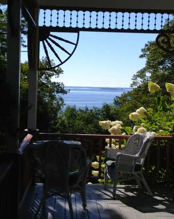 Victorian by the Sea: The view from the porch on a perfect summer day