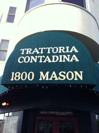 Trattoria Contadina: tiny family owned restaurant