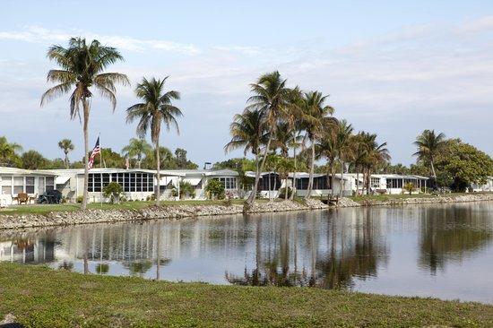 Indian Creek RV Resort : Resort Grounds/Lake View