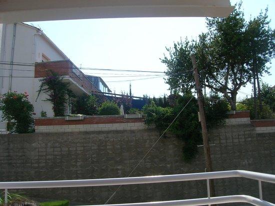 Els Llorers: vue du balcon