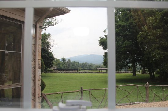 Glen Gordon Manor : wonderful view of the mointains