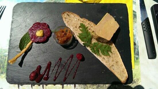 Chez Louisette : foie gras