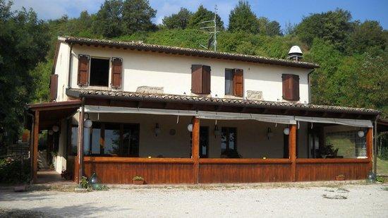 Country House La Valle del Vento : Location