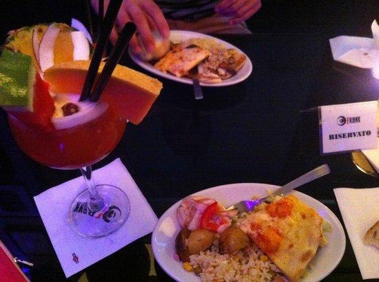 Hotel Sanpi Milano: Bar lounge cocktail + repas à volonté