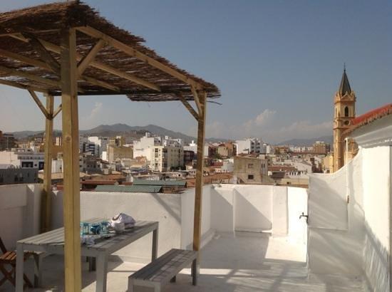 Casa Al Sur: la terraza
