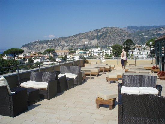 Hotel La Pergola: Roof top Solarium