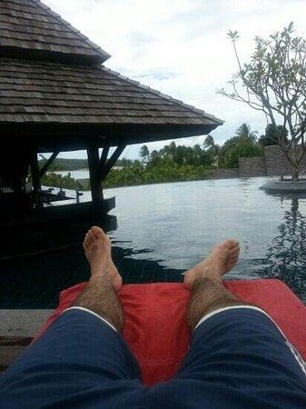 Nora Buri Resort & Spa : En la piscina de este precioso hotel