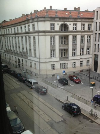 Eurostars Berlin Hotel: View from our room 313