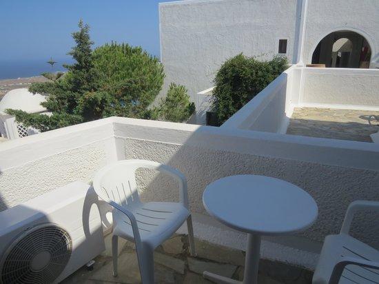 Santorini Palace: terrasse