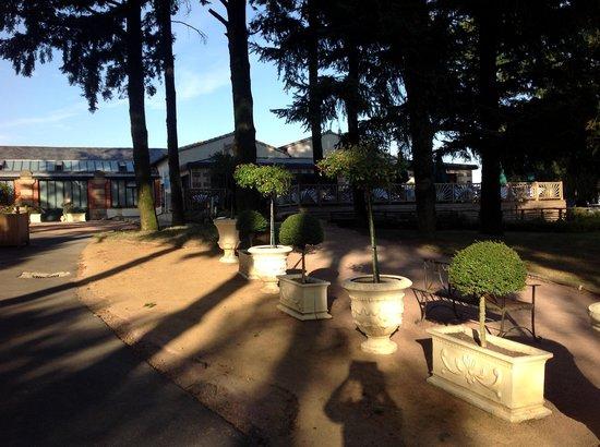 Chateau du Boisniard: coté restaurant