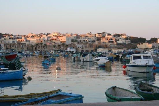Port View Guesthouse: il porticciolo di Marsaxlokk