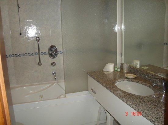 Hotel Salicone: dettaglio del bagno