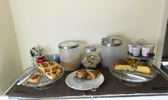 Bed and Breakfast Le Chiarine : La colazione