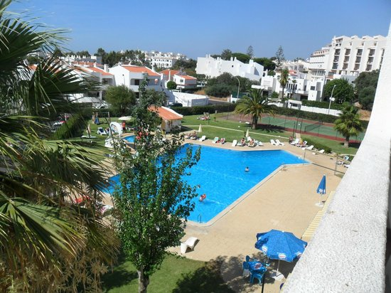 Silchoro Apartments : lovely view from balcony
