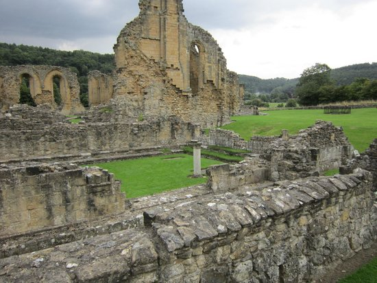 Byland Abbey : The chapter house